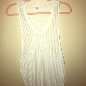 Women's Billabong M/M Sheer White Beach Coverup
